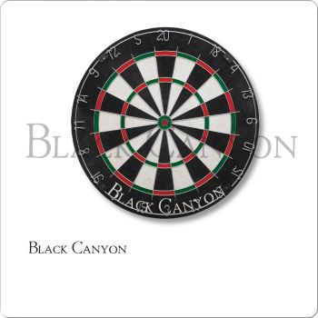 Black Canyon 30-0255 Bristle Dart Board With Round Wire