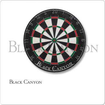 Black Canyon 30-0355 Bristle Dart Board With Diamond Wire