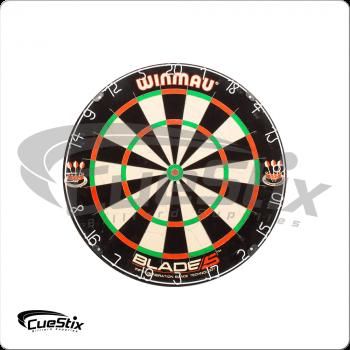 Winmau Blade V 30-WIN500 Galvanized Angled Blades Dart Board