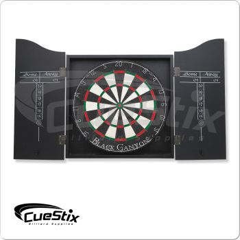 40-0500 Black Dart Board Cabinet
