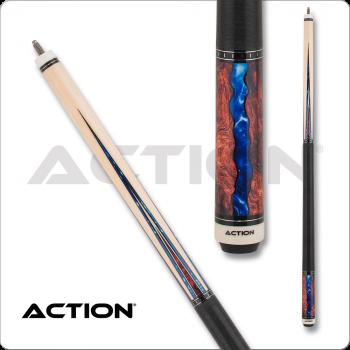 Action ACT152 Fractal - Maple w/ Burl & Blue Points