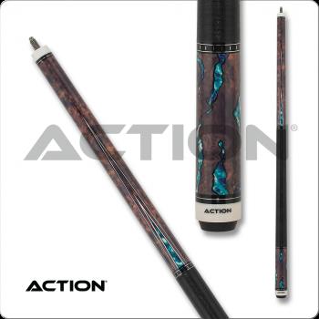 Action ACT154 Fractal - Walnut w/ Aqua
