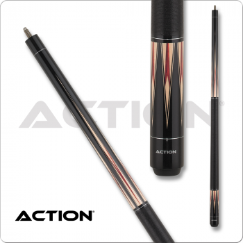 Action ACT156 Exotic - Black w/ Maple & Cherry Points