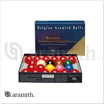 Aramith BBAEPC Pro Cup Tournament Champion Snooker Set