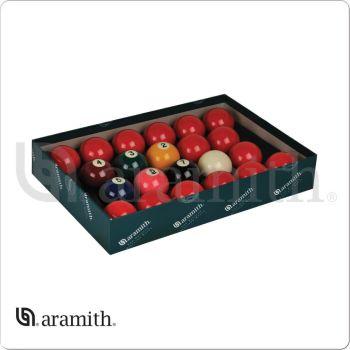 """Aramith BBANS2.125 Premier 2 1/8"""" Numbered Snooker Set"""