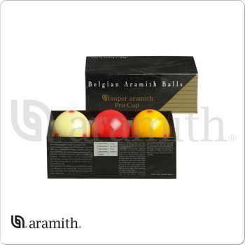 Aramith BBARC Super Pro Cup Carom Set
