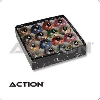 Action BBGLR Glitter Ball Set