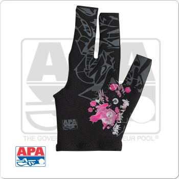 "APA ""Shoot Like A Girl"" BGLAPA02 Billiard Glove - Bridge Hand Left"