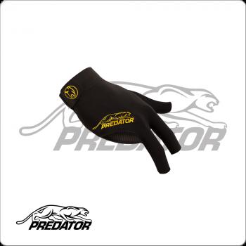 Predator BGRPY     S/M Second Skin Black & Yellow - Bridge Hand Right S/M
