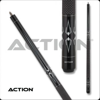 Action BW24 Black & White Pool Cue