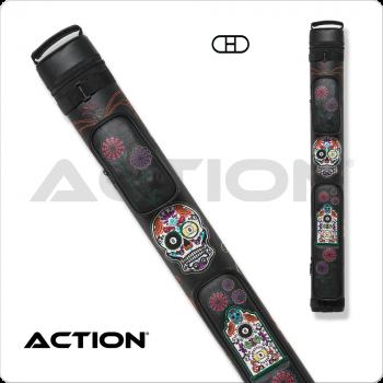 Action Calavera CALC22B 2x2 Stitch Hard Cue Case