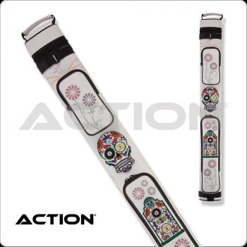 Action Calavera CALC22D 2x2 Stitch Hard Cue Case
