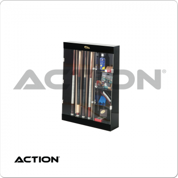 10 Cue DC10A Wall Display Case w/ Shelves