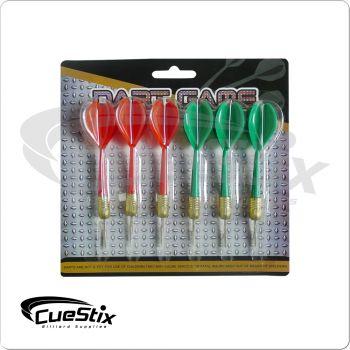 Steel Tip Darts DRT6 - Pack of 6
