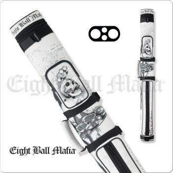 Action Eight Ball Mafia EBMC22E 2x2 Hard Cue Case