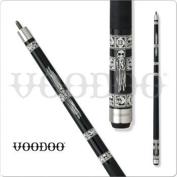 Voodoo Black & White VOD19 Ill-Fated Pool Cue