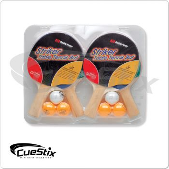 Ping Pong PP54665W Paddles and Balls