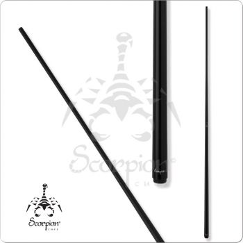 Scorpion SCOOP01 Black One Piece Cue