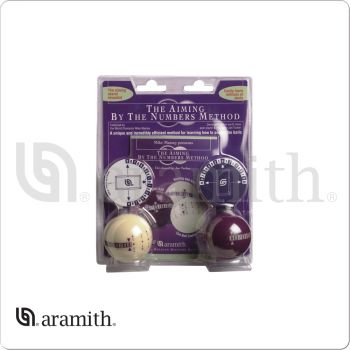 Aramith IPABN Aiming By Numbers Training Balls