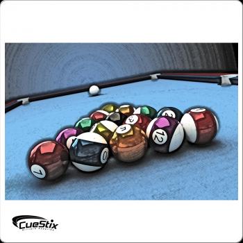 Wall Art NGA01 - Rack of Balls