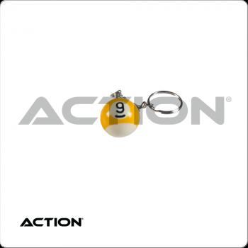 9 Ball NI9BK1 Key Chain Single