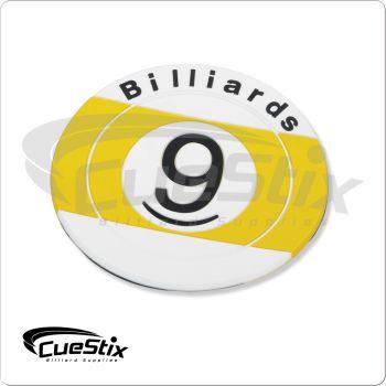 Rubber 9-Ball NICR02 Coaster