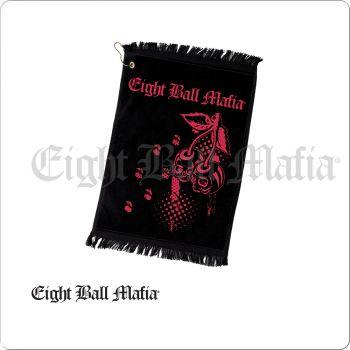Eight Ball Mafia NITEBM02 Cherry Skulls Towel