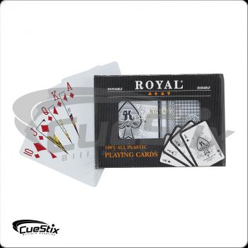Plastic POKDK2 Playing Cards - 2 Deck Set