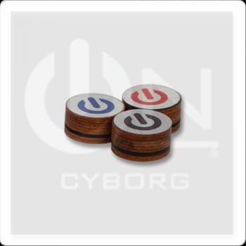 ON QTCYH Cyborg Hybrid Pool Cue Tip - Single