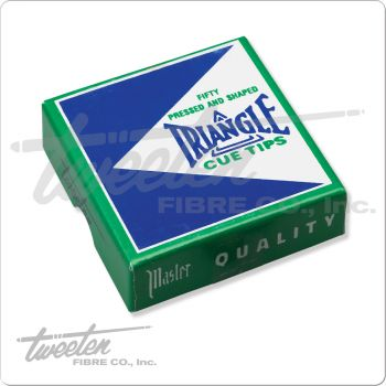Tweeten Triangle QTTRIA50 Cue Tip - box of 50