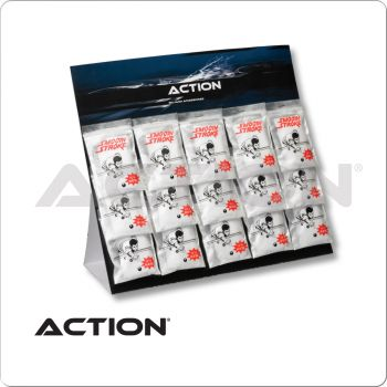 Action SPST15 Smooth Stroke Talc Card of 15