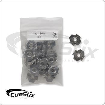 """T-Nuts TPVTN 1/4"""" Bag of 20"""