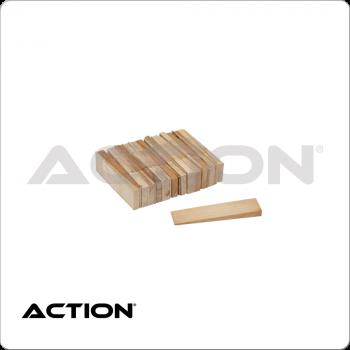 Hardwood Table Shims TPWS25 Set of 25