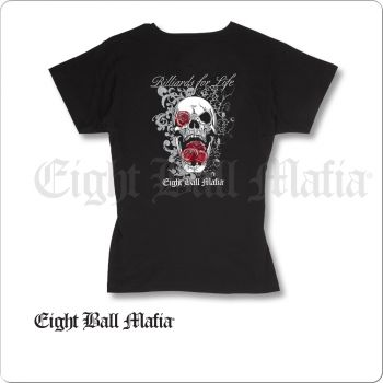 Eight Ball Mafia TSEBM05 T-Shirt V Neck