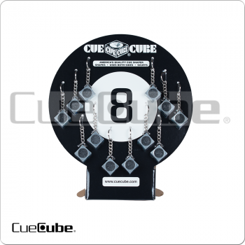 Cue Cube TTCC12 Counter Top Display of 12