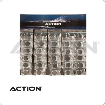 Action TTSSS25 Square Scuffer & Shaper - Card of 25