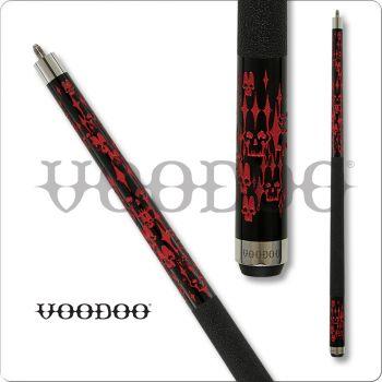 Voodoo Blood VOD23 Mortality Brigade Pool Cue