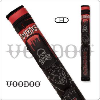 Voodoo VODC22A 2x2 Stitch Voodoo Hard Cue Case